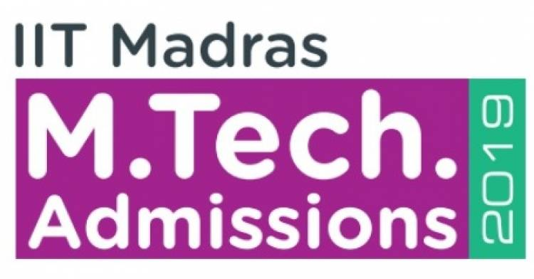 IIT Madras invites Applications for M.Tech. Programmes