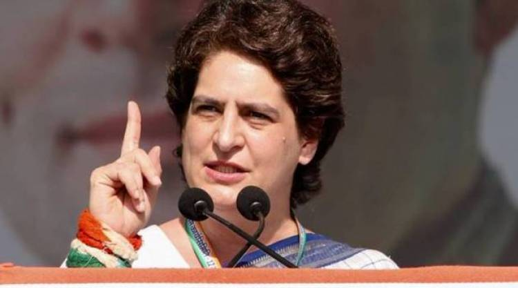 Priyanka Gandhi attacks Narendran Modi and Amit Shah