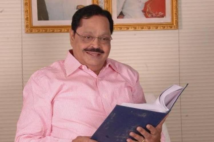I-T search at DMK treasurer Durai Murugan's house