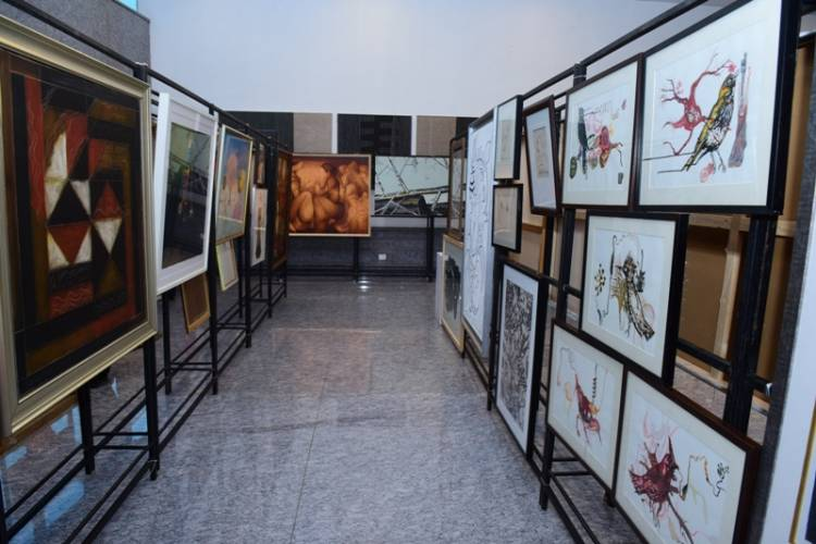 Rotary Club of Madras and Sotheby's present 'Painting Lives' Art Exhibition