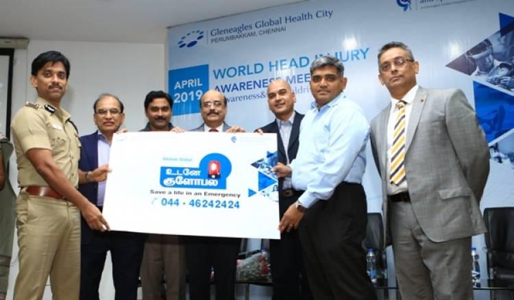 Gleneagles Global Health City, Partner with Chennai Traffic Police