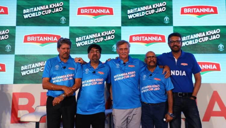 """""""Britannia partners with ICC to bring back the iconic Britannia Khao, World Cup Jao Campaign"""""""