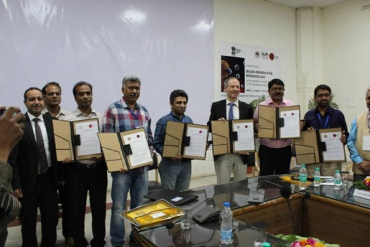 Six leading Indian Institutes establish joint Doctoral Training Group on Bio Big Data Science