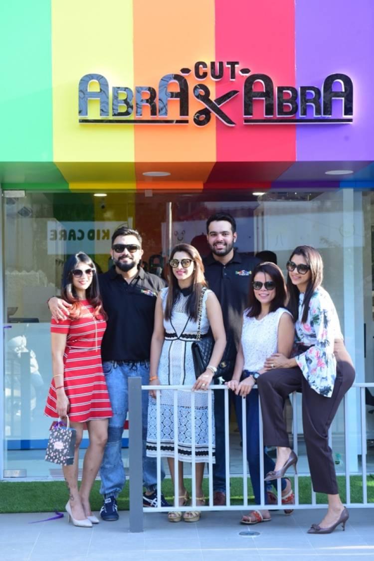 Abra Cut Abra, an exquisite Kids Salon was launched by Vandana Srikanth