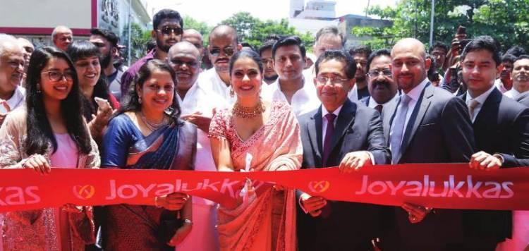 JOYALUKKAS Inaugurated Chennai's 4th Showroom in T Nagar