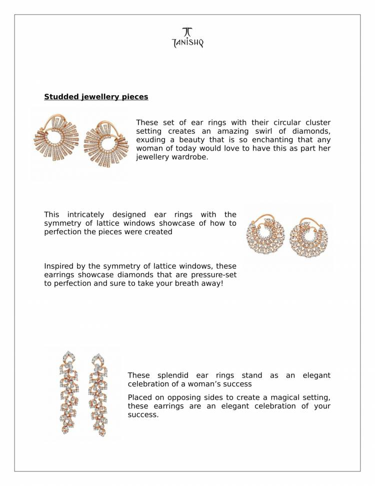Swayahm collection from Tanishq