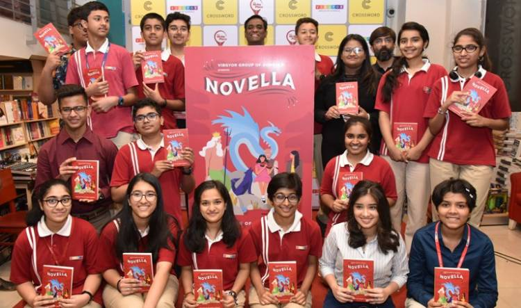 VIBGYOR Group of Schools Launched 'Novella – A Book of Short Stories'
