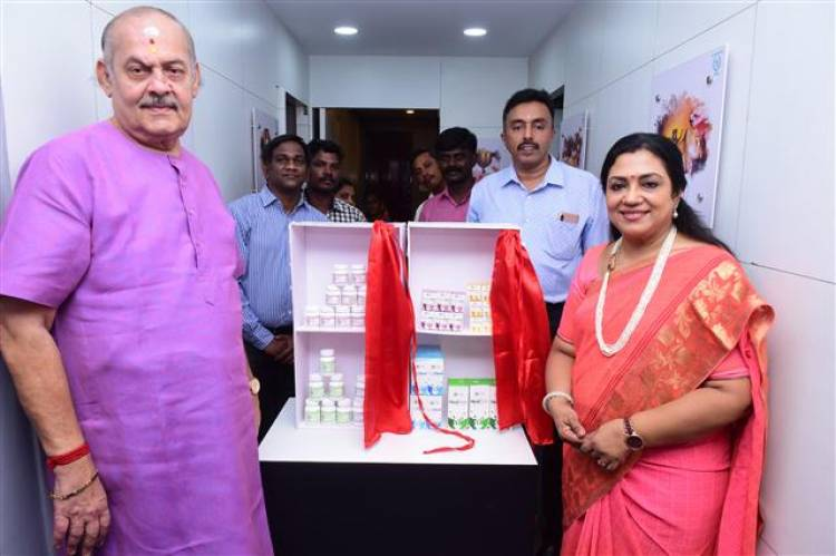 The Arya Vaidya Pharmacy (Coimbatore) Limited launched its refurbished flagship centre in Chennai
