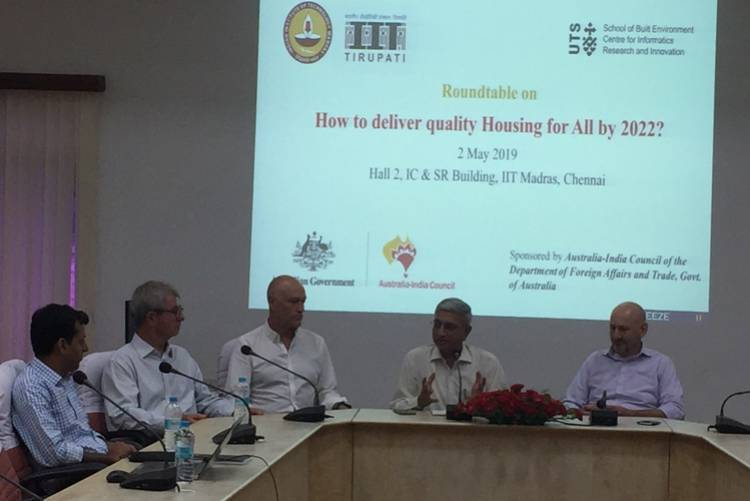 IIT Madras collaborates with University of Technology Sydney to explore Manufacturing solutions to house India's Urban Poor