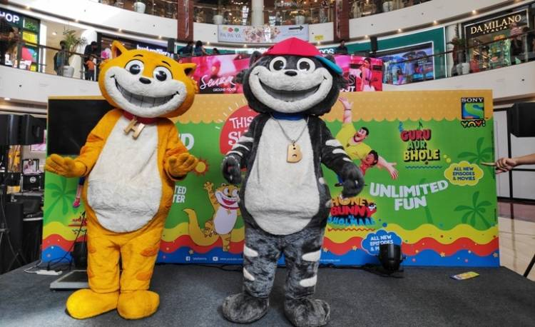 The mischievous duo Honey-Bunny from Sony YAY! to light up the weekend at Forum mall, Chennai