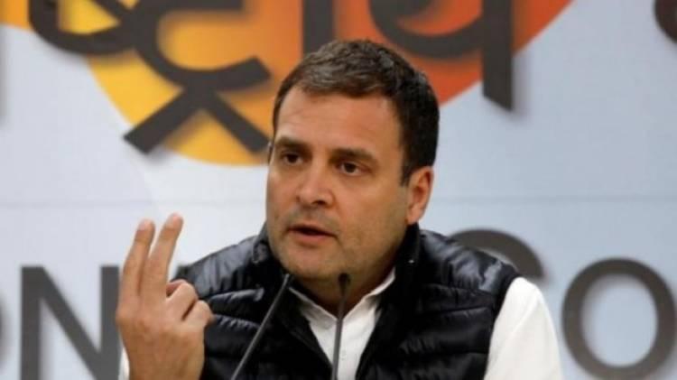 Congress President Rahul Gandhi accused EC