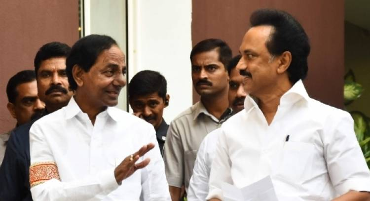 M.K Stalin and KCR meeting on May 13 uncertain