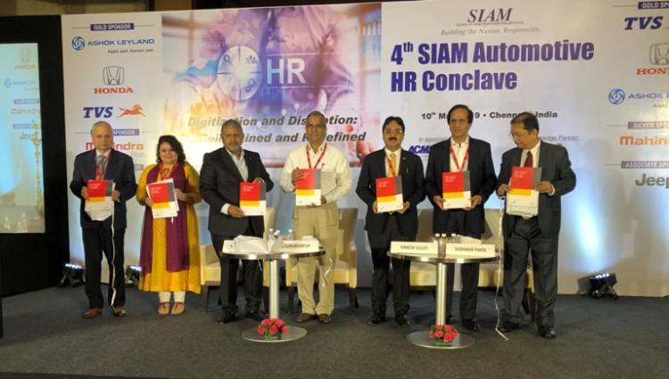 SIAM organises the 4th edition of Automotive HR Conclave in Chennai