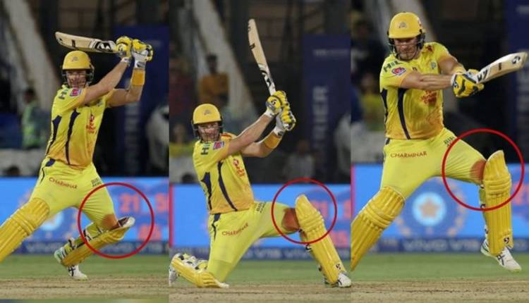 Shane Watson was bleeding and got 6 stitches after IPL 2019 Final