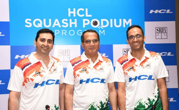 HCL and Squash Rackets Federation of India Partner to Transform India's Squash Ecosystem