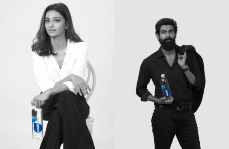 Radhika Apte and Rana Daggubati new brand ambassadors for smart water