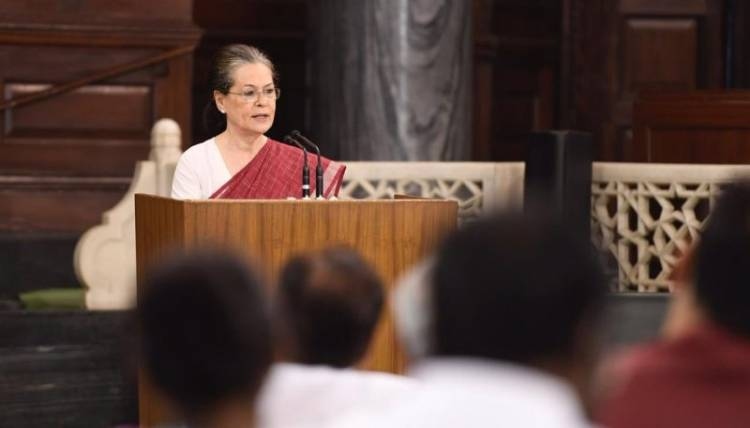 Sonia Gandhi has been elected chairperson of the Congress's elected parliamentarians