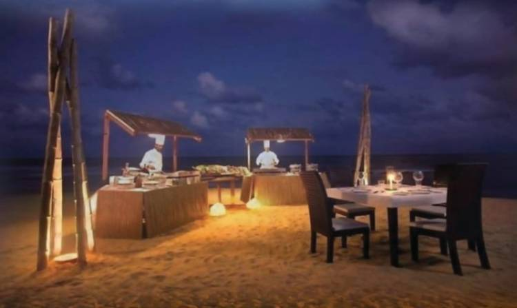 Chill and Grill by the beach at Taj Fisherman's Cove