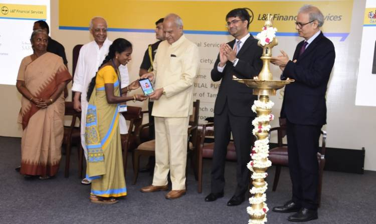 Shri Banwarilal Purohit Launches L&T Financial Services 'Digital Sakhi' in Tamil Nadu