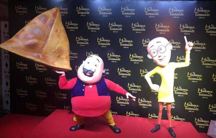 First Indian animated characters to have their wax statues at Madame Tussauds