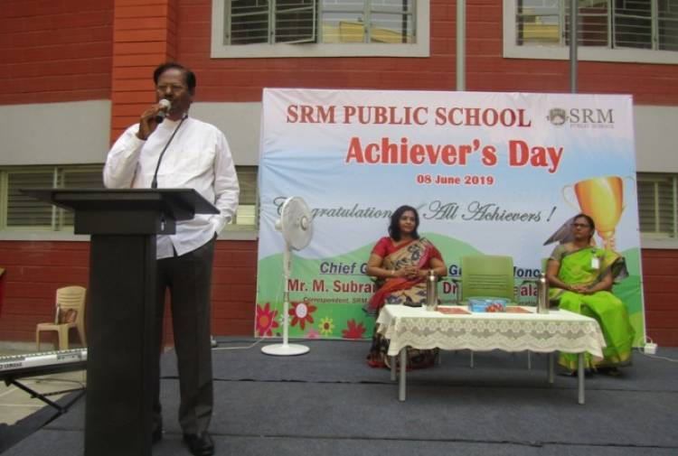 SRMPS conducted a Blood Donation Day and celebrated recount the academic success