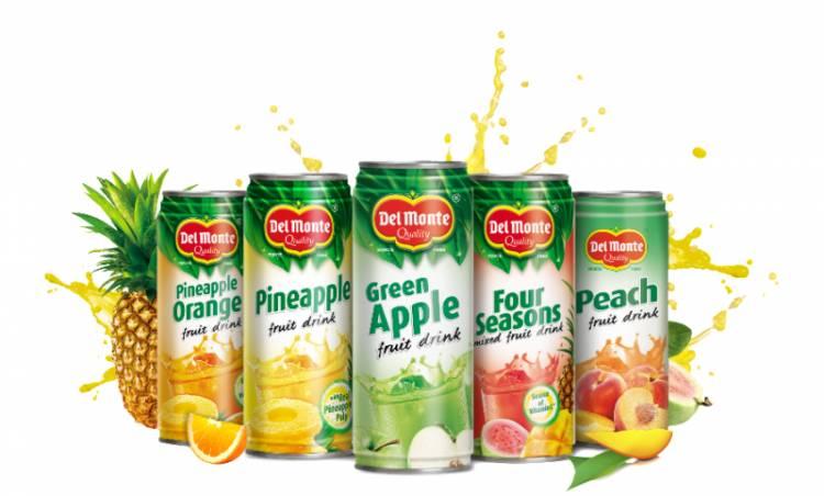 Enjoy summer season with Del Monte's range of fruit drinks