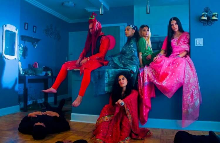"Sony Music- LA hiphop crew Bhanga Bangla outs their new banger ""Borof"""