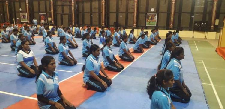 SRMIST Celebrated 5th International Yoga Day
