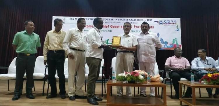 SRM IST organized Six week certificate course in sports coaching