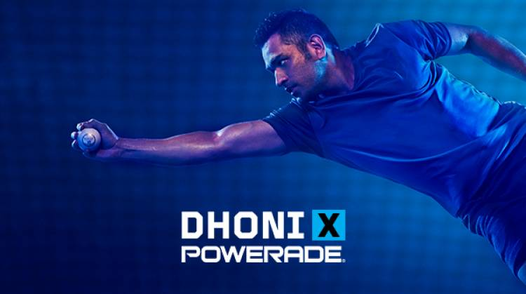 'Powerade', the new sports drink from Coca-Cola India - Mahendra Singh Dhoni Brand Ambassador