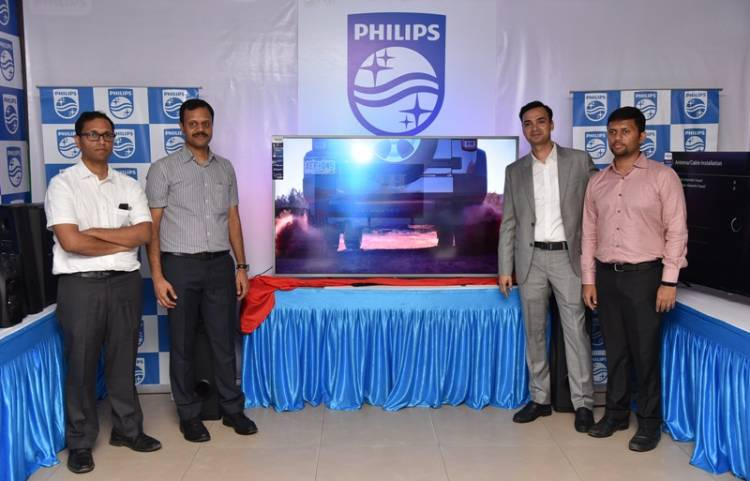 """TPV Technology Announces the Availability of the Revolutionary 65"""" Philips Ambilight Television in Chennai"""