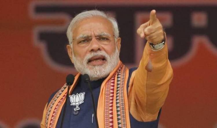 Narendra Modi attacks opposition for blaming EVMs for defeat
