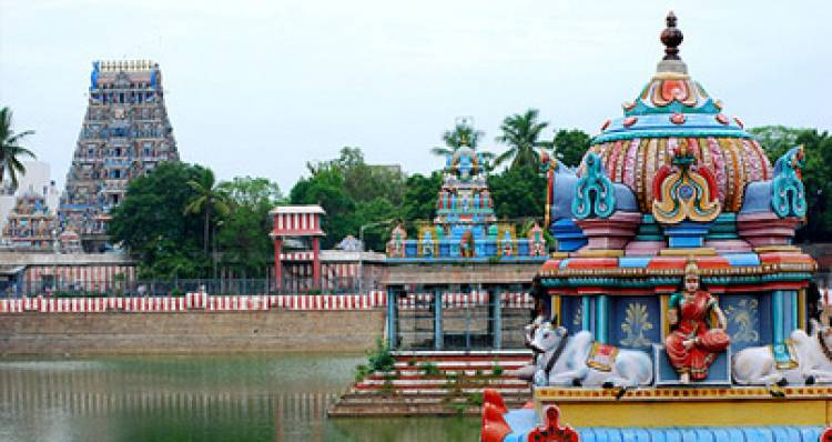 Central government visits Chennai Mylapore Lord Kapaleeswarar temple