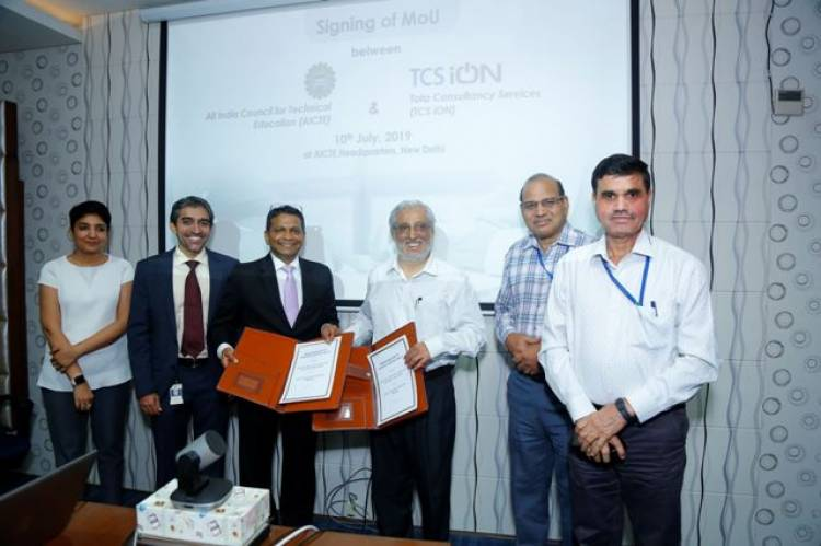 TCS iON Collaborates with AICTE to Equip Students with Career Skills