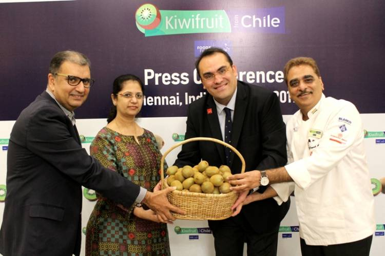 Nutritious and delicious Kiwifruit from Chile Makes Deeper Inroads into the Indian Market