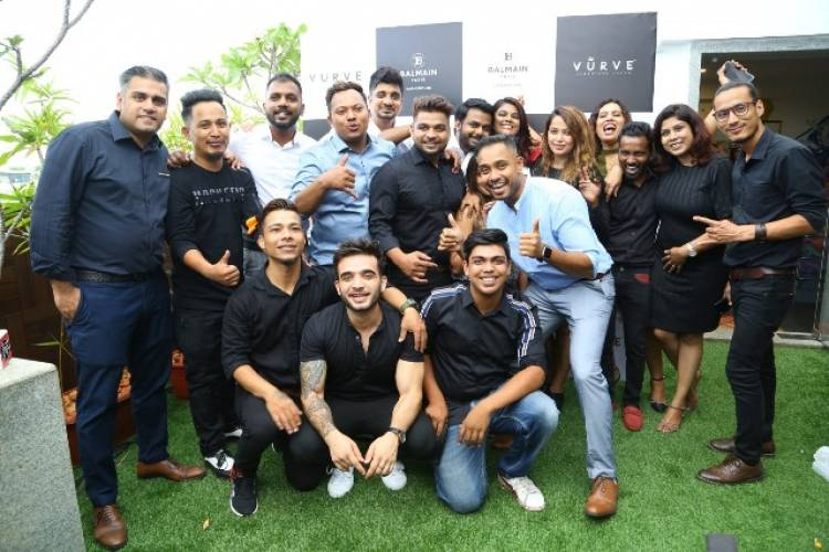 Vurve Signature Salon launches Balmain at its new salon at ECR with Celebrity Hairstylist Yianni Tsapatori