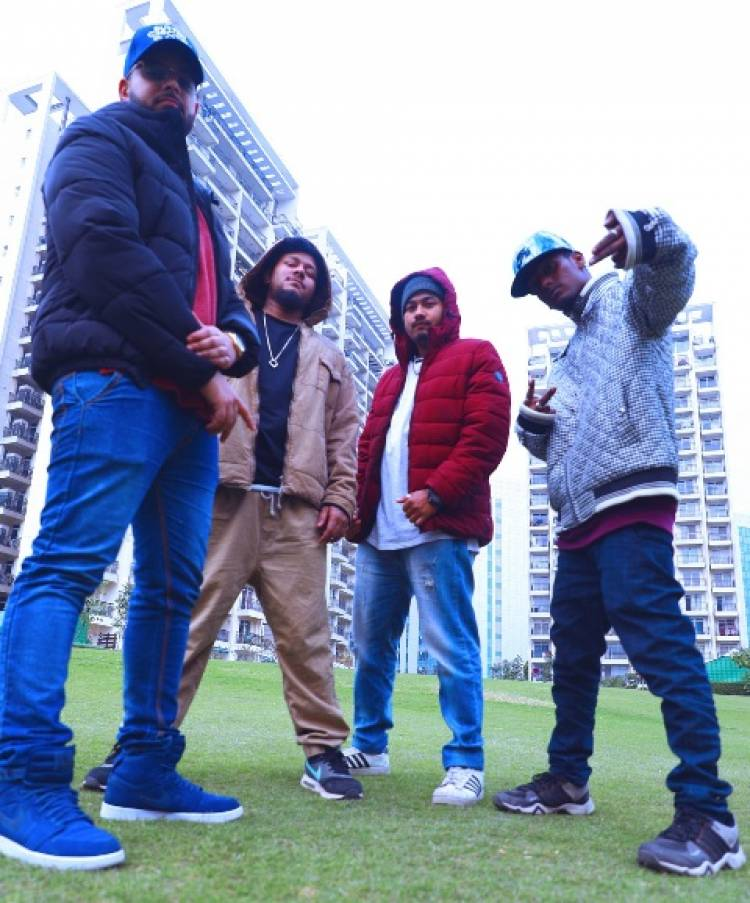 Awaaz releases Tera Bhai  by Delhi native, Slyck TwoshadeZ featuring Hip Hop Collective Khatarnaak