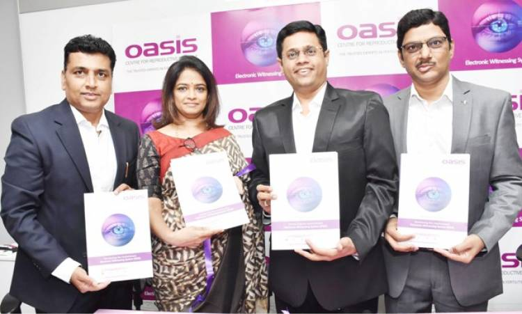 India's first home grown 'Electronic Witnessing System' introduced at Oasis centre