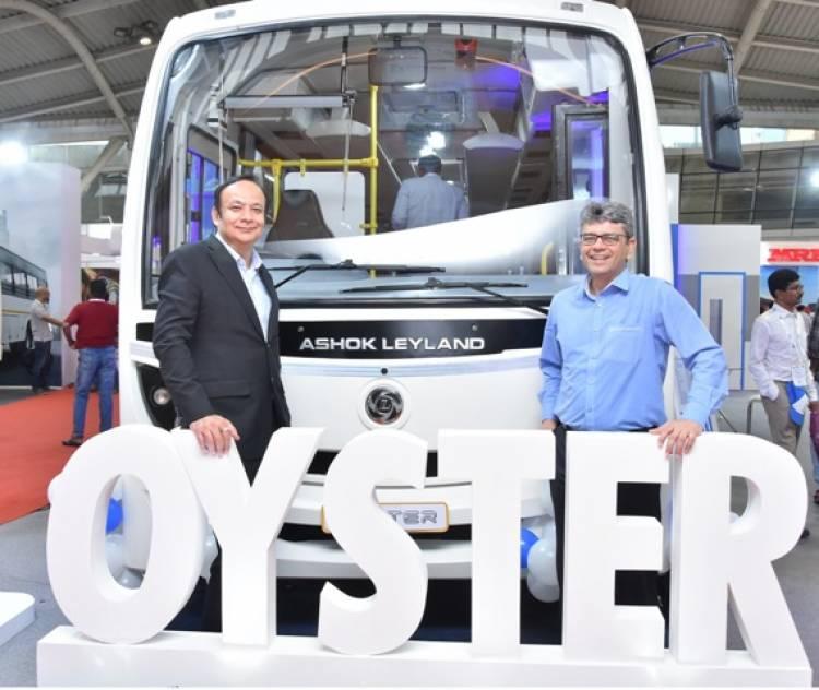 Ashok Leyland Launches its Next GenerationA.C. Midi-Bus – Oyster, in India
