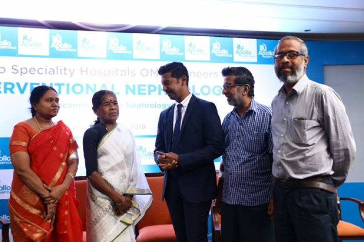 Apollo Speciality Hospitals OMR pioneers in Interventional Nephrology
