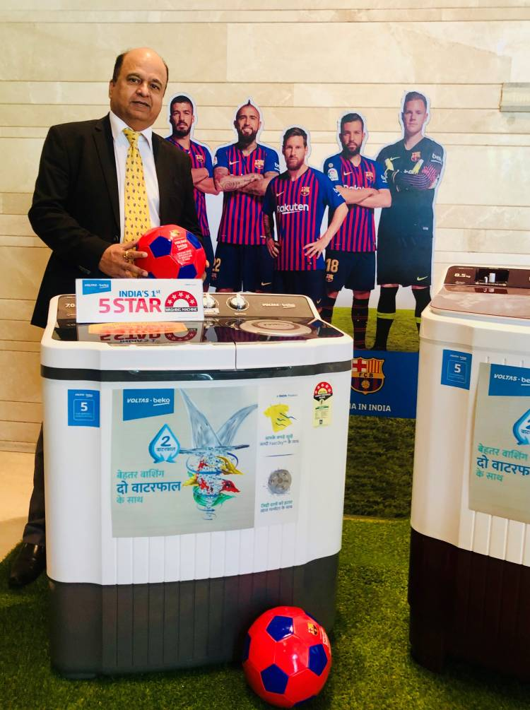 Voltas Beko launches India's first 5 Star rated Washing Machines