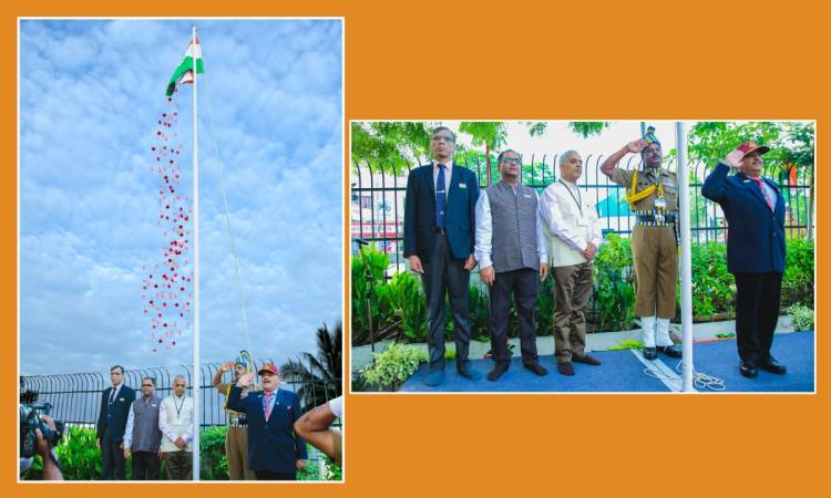 Indian Overseas Bank Celebrates 73rd Independence Day