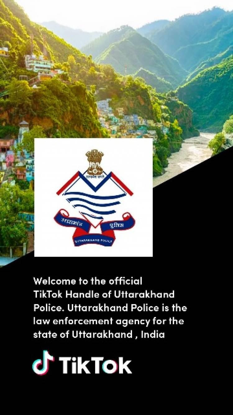 Uttarakhand Police joins TikTok