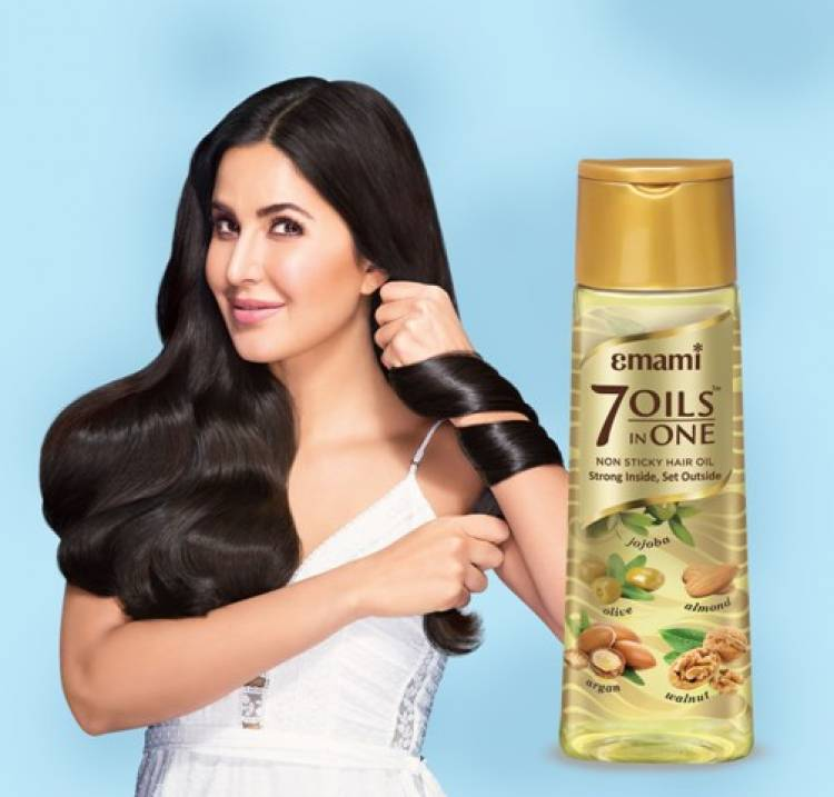 Emami ropes in Superstar Katrina Kaif as the new face for Emami 7 Oils in One