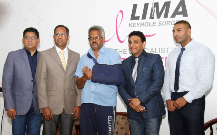 Innovative Novel treatment for shoulder fractures by LIMA Hospital