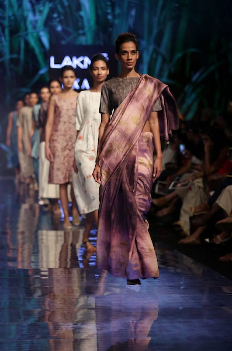 Maku, Padmaja And Soham Dave Unveiled Organic Fashion at Lakmé Fashion Week Winter/Festive 2019