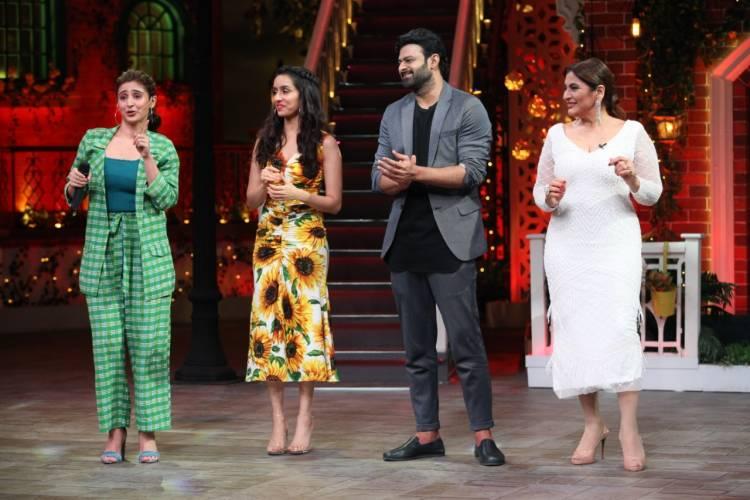 Dhvani Bhanushali performs 'Psycho Saiyaan' at The Kapil Sharma Show
