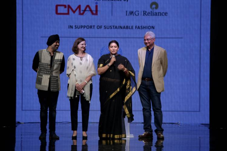 Textiles Minister Launches Project SU.RE, A Joint Project Of CMAI And IMG Reliance, On Sustainable Fashion Day At The Lakmé Fashion Week