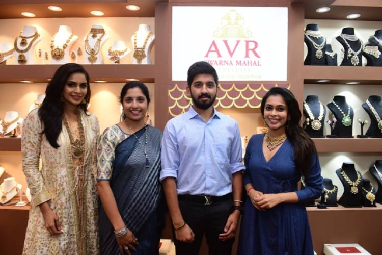 AVR Swarna Mahal Jewellers showcased their exquisite jewellery collection at the 'Duchess Utsav 2019'