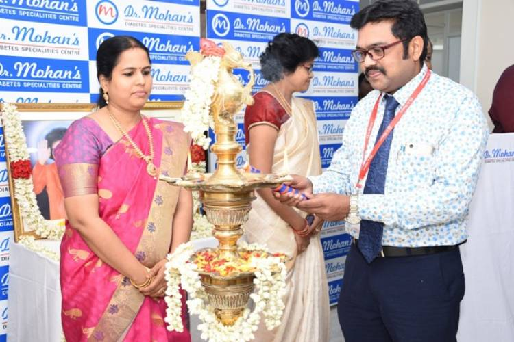 Dr. Mohan's Diabetes Specialties Centre opens its Kilpauk branch